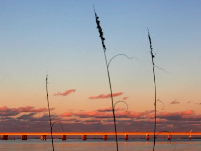 The A1A Scenic and Historic Coastal Byway crosses Matanzas Inlet.   Photo by: Daron Dean