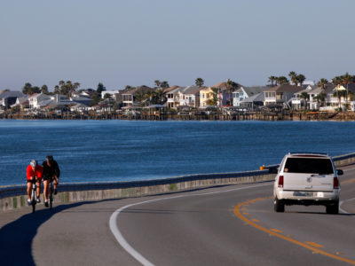 The A1A Scenic and Historic Coastal Byway travels along the Matanzas River in southern St. Johns County, just north of Mainland. Daron Dean for VISIT FLORIDA