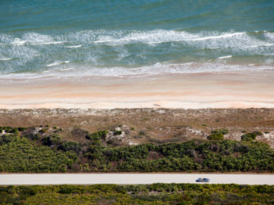 The A1A Scenic and Historic Coastal Byway travels along the Atlantic Ocean in St. Johns County, north of St. Augustine. Daron Dean for VISIT FLORIDA