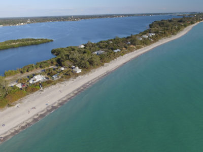 Blind Pass Beach on Manasota Key Rd. near the Lemon Bay/Myakka Trail Scenic Highway [Photo By Luis Santana]
