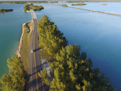 Boca Grande Causeway at the South end of Lemon Bay/Myakka Trail Scenic Highway [Photo By Luis Santana]