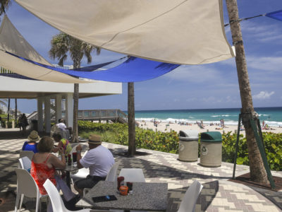 Deerfield Beach, Florida May, 2014 Newly Rennovated And Upgraded Pier Area