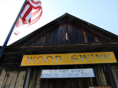 The Wood and Swink Old Country Store, which was once an old Post Office | Photo by: Brad McClenny