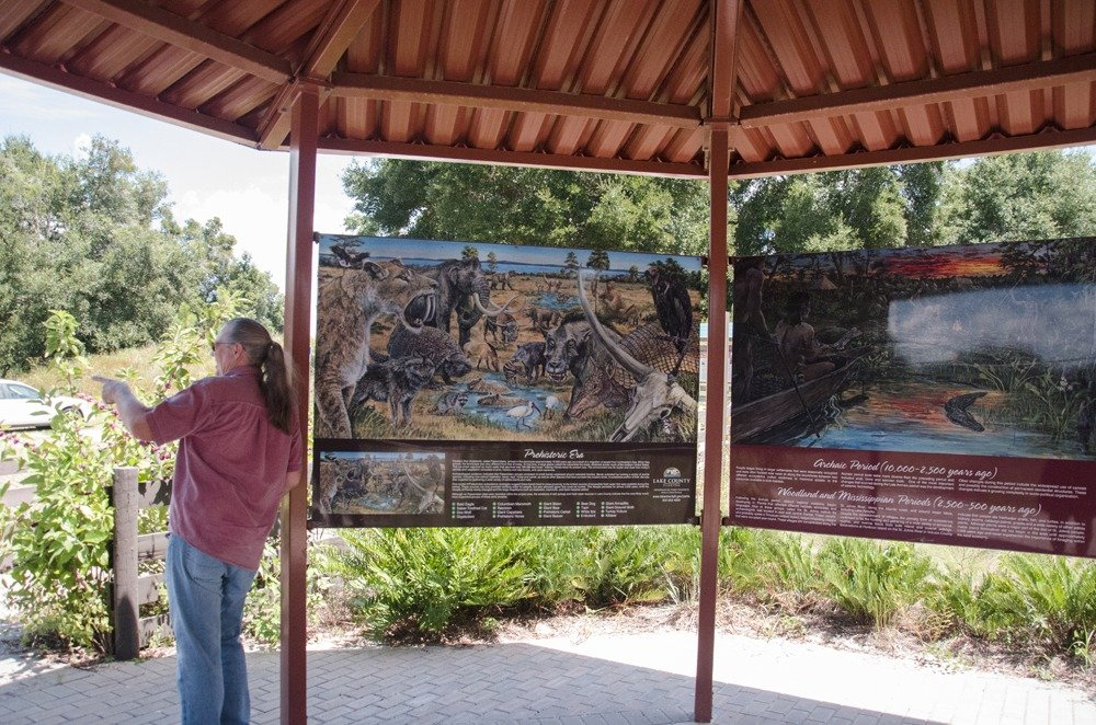 Green mountain scenic byway florida scenic highways for Cypress gardens mural