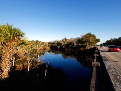 U.S. 1 crosses Pellicer Creek in the northern portion of the Heritage Crossroads: Miles of History Heritage Highway. The Florida Scenic Highway, comprised of 89 miles of roadways, travels through Flagler, Volusia and St. Johns Counties in northeastern Florida. Daron Dean for VISIT FLORIDA