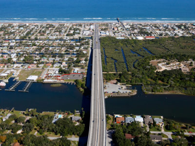 Highway 100 crosses the Matanzas River to Flagler Beach in the southern portion of the Heritage Crossroads: Miles of History Heritage Highway. The Florida Scenic Highway, comprised of 89 miles of roadways, travels through Flagler, Volusia and St. Johns Counties in northeastern Florida. Daron Dean for VISIT FLORIDA