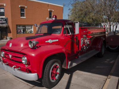 Historic Firetruck Winter Garden