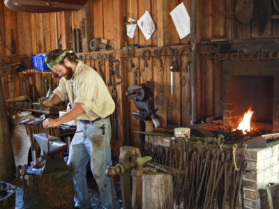 Old Style Blacksmithing Barberville
