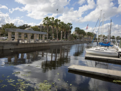 Over 150 miles of scenic roadway, the River of Lakes Heritage Corridor, takes you through Lake, Volusia , and Seminole County. This scenic byway is a combination of historic preservation, rich culture and Florida natural habitats at it's finest. The Riverwalk area in Sanford. Shops, restaurants, parks and waterways to explore. (Photo/Julie Fletcher)