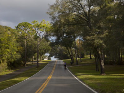 Over 150 miles of scenic roadway, the River of Lakes Heritage Corridor, takes you through Lake, Volusia , and Seminole County. This scenic byway is a combination of historic preservation, rich culture and Florida natural habitats at it's finest. Rolling hills are on the outskirts of downtown DeLand. Bicycle friendly on this scenic drive. (Photo/Julie Fletcher)