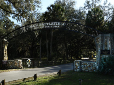 The Dade Battlefield Historic State Park which is along the Scenic Sumter Heritage Byway in Bushnell, Fla.