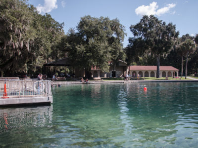 Swimming Area At DeLeon Springs
