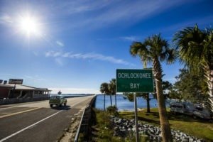 A westward drive along the Coastal Trail of the Big Bend Scenic Byway will bring you to the U.S. Highway 98 bridge over Ochlockonee Bay. COLIN HACKLEY PHOTO