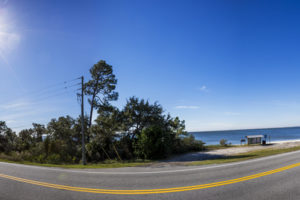 A panoramic view of the Coastal Trail portion of the Big Bend Scenic Byway. along U.S. Highway 98 at Leonard's Landing on Alligator Harbor. COLIN HACKLEY PHOTO EDITOR'S NOTE: This image is comprised of multiple photos taken at the same moment and stitched together by Photoshop to create a panorama.