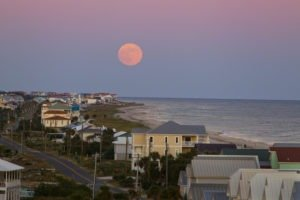 Monthly full moon tours of the Cape St. George Lighthouse feature coastal views like this... COLIN HACKLEY PHOTO