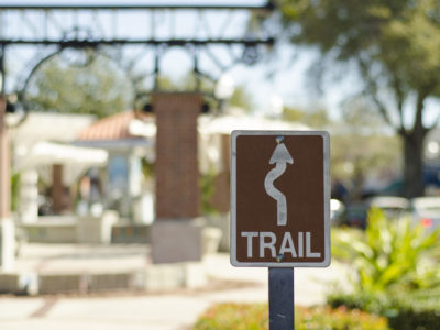 West Orange Trail Runs On The Green Mountain Scenic Byway In Winter Garden