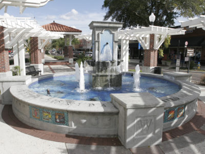 Winter Garden Downtown Fountain