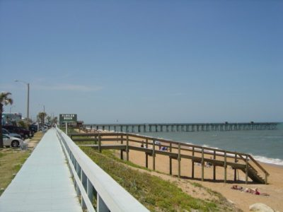Flagler Pier From The South