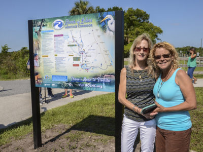 ROLHC Kiosk Claudia And Lynn