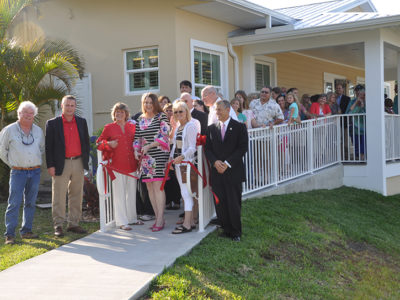 Ribbon Cutting at Pelican Porch Visitor Center