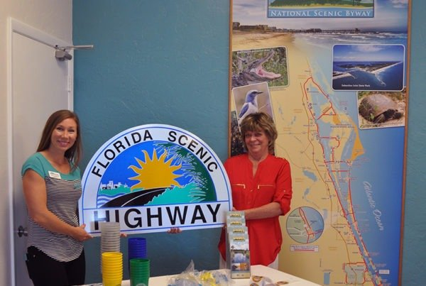Visitor Center Promoting The Byway