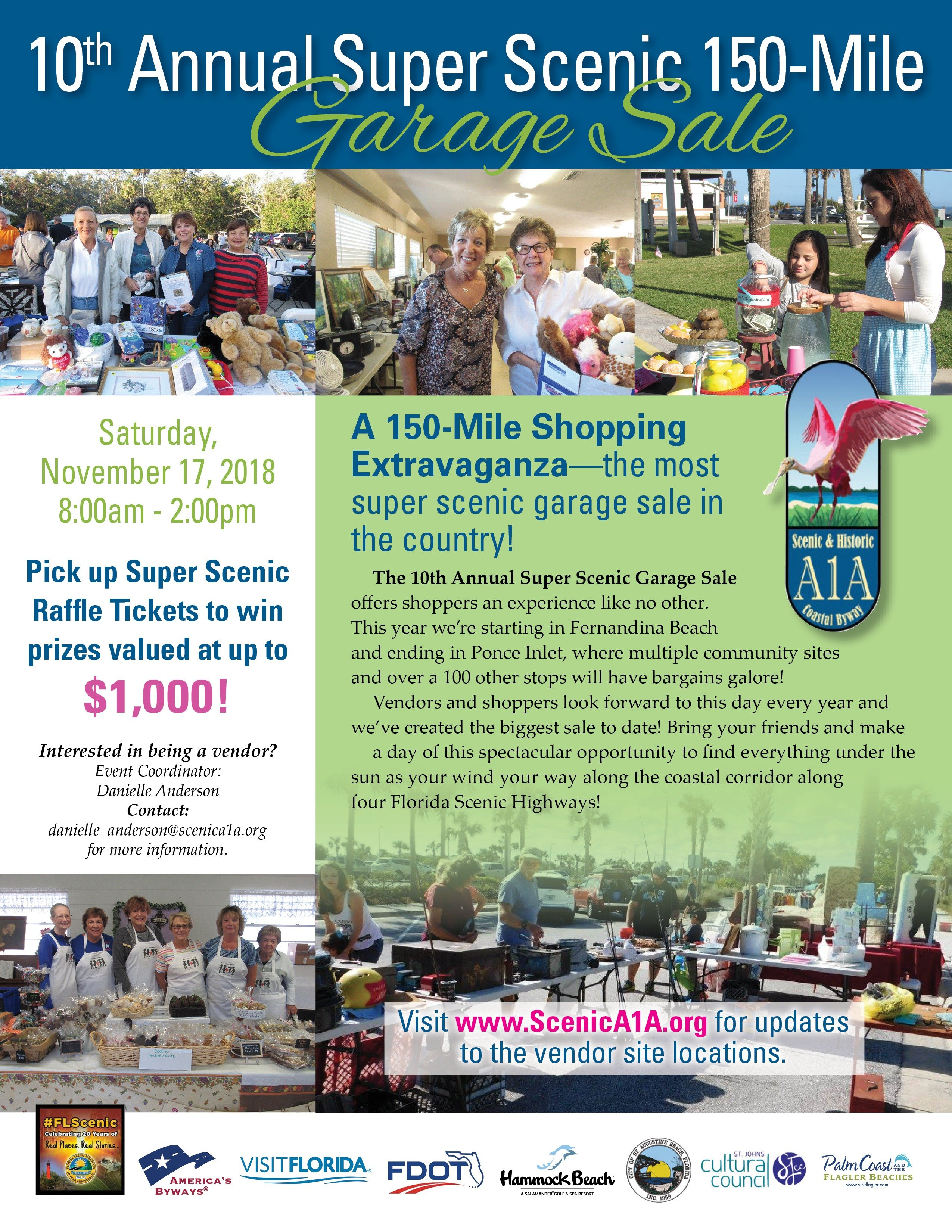 10th Annual Super Scenic 72 Mile Garage Sale | Florida