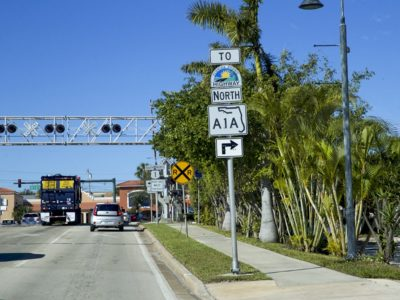 A1A Along Treasure Coast