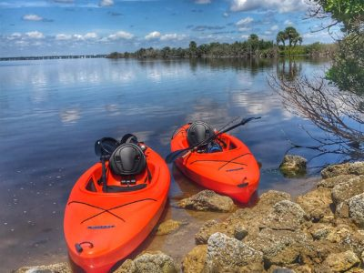 """Kayak Twins"" - Indian River Lagoon National Scenic Byway 