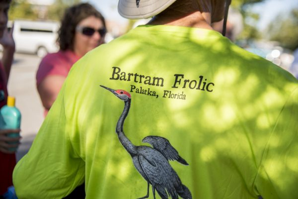 Bartrams Sandhill Crane On Shirts