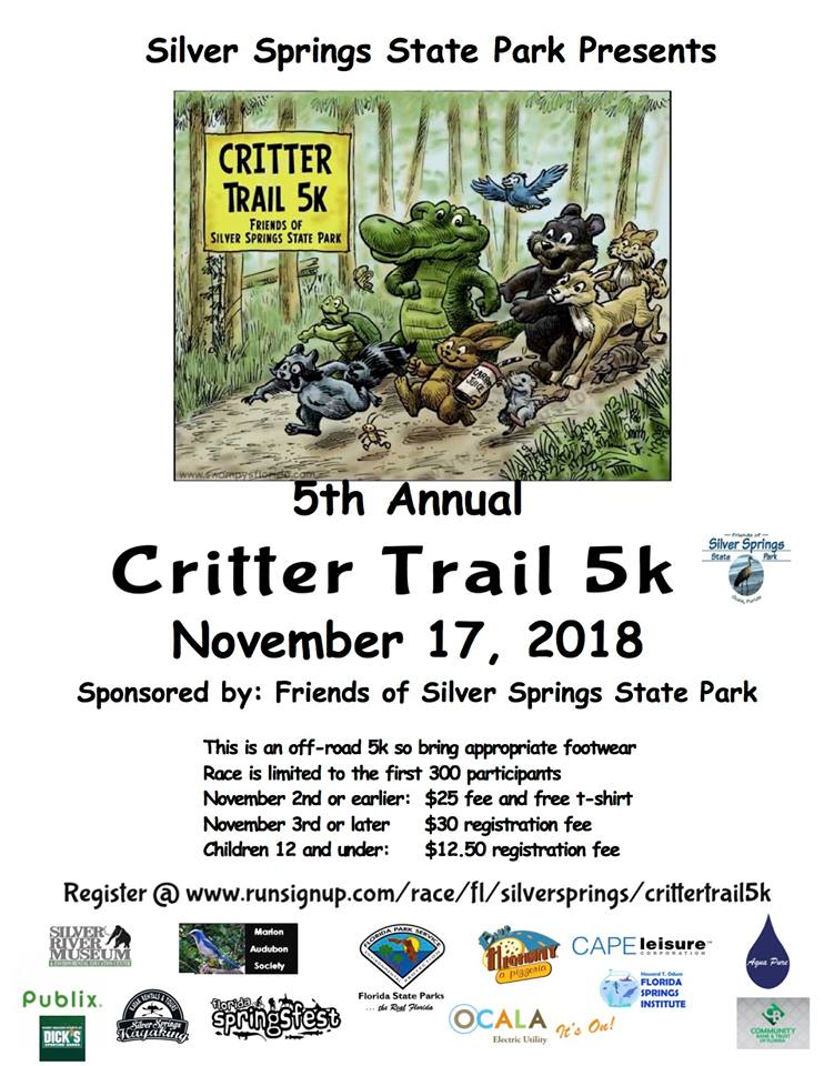 5th Annual 2018 Critter Trail 5k