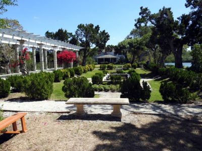 Historic Spanish Point Sunken Garden