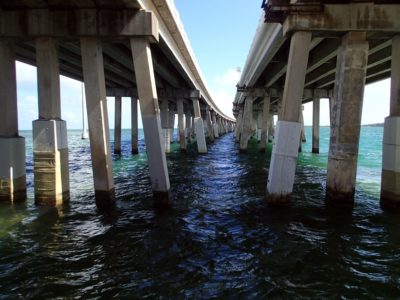 Overseas Highway from below