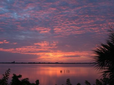 Sunrise Over The Indian River Lagoon