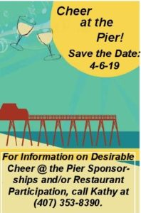 2019 Cheer At The Pier Save The Date